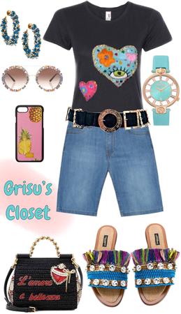 110 De corazón a corazón playera bordada a mano diseño exclusivo de Grisú's Closet