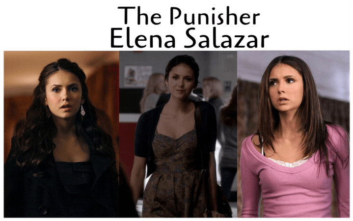 Elena Salazar   The Punisher OC
