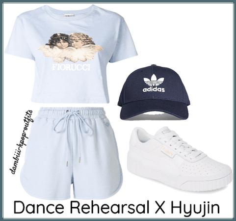 Dance Rehearsal X Hyujin