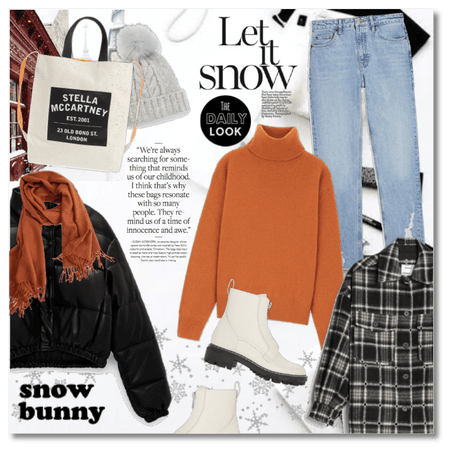 Snow Bunny in January