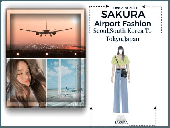Sakura Airport Outfit|6-21-21|