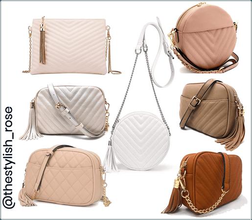 Neutral handbags