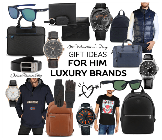 St. Valentines Gift ideas for Him Luxury Brands