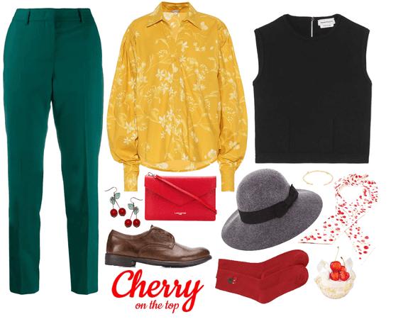 cherry on top 🍒