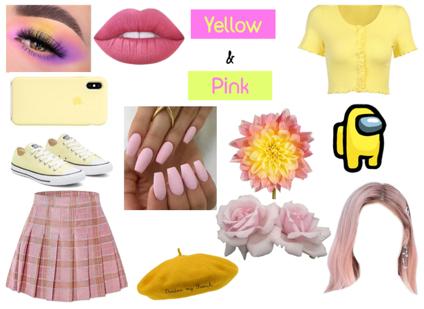 Color Combos: Yellow and Pink
