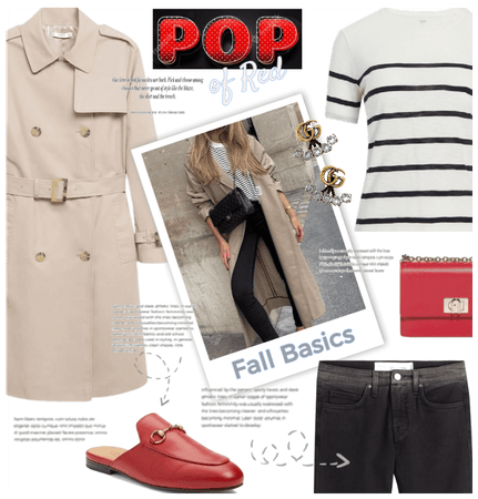 Summer to Fall: Pop of Red