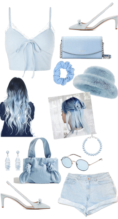 Monochromatic Outfit - Blue