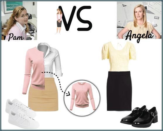 Pam vs Angela Style