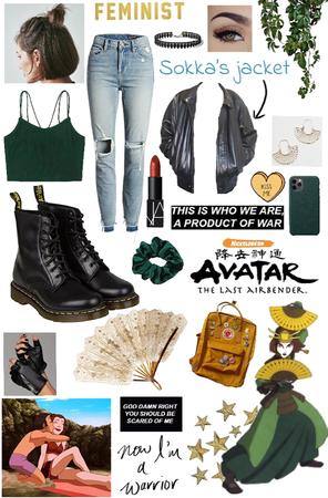 Suki: Modern Avatar the Last Airbender