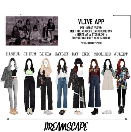 DREAMSCAPE [드림스게이프] vLive App 200120