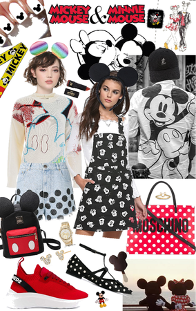 Mickey Mouse 🐭 and Minnie Mouse 🐭 xox