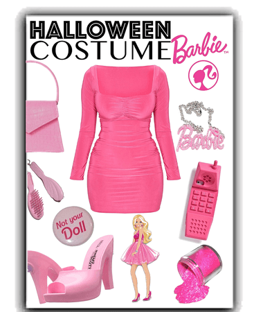 Barbie Halloween Costume 💕👱🏻‍♀️