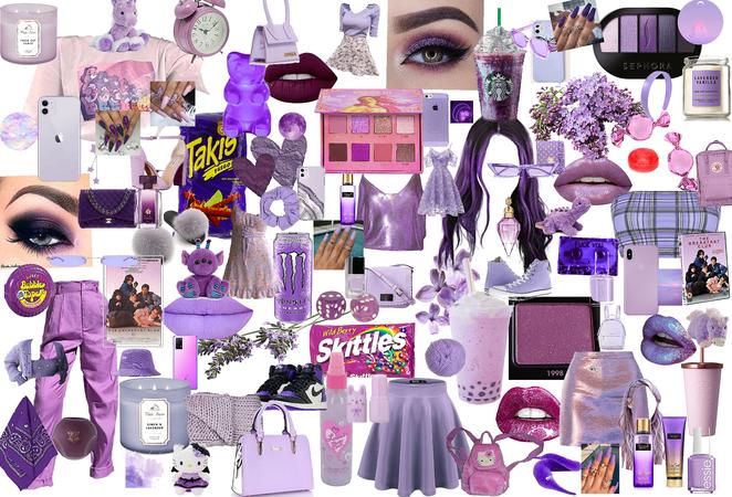 purple 🔮💜😈👾🍇☂️