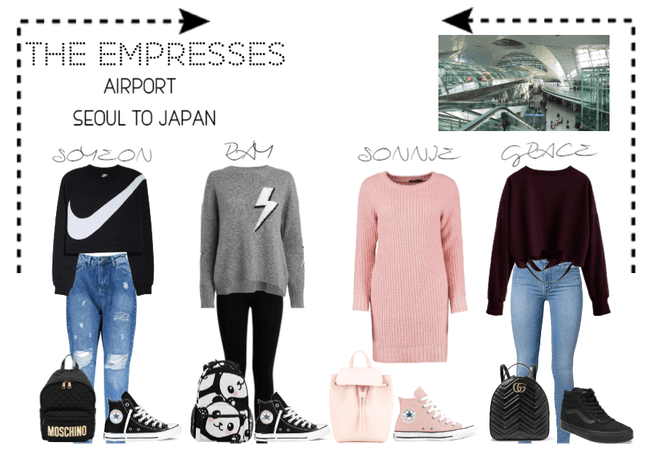 [THE EMPRESSES] TRAVELS- SEOUL TO JAPAN