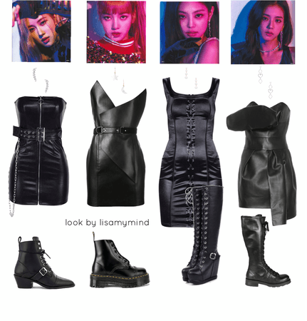blackpink's outfit