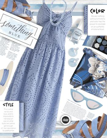 Get The Look: Sky Blue Summer Dress (7.19.2021)