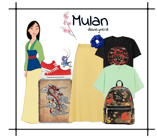 Mulan inspired Disney Bound by disneynerd