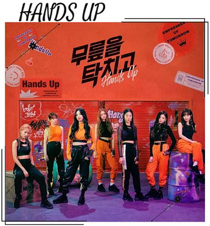 EOT(내일의 황후) | 'Hands Up' Album Cover