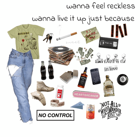 teen grunge outfit