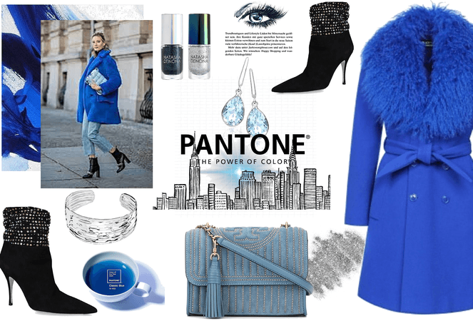 Pantone Blue 2020