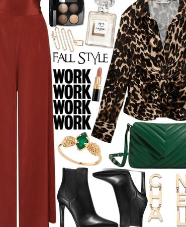 fall work style.