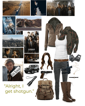 The Death Cure OC- Rosalee