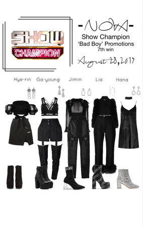 -NOVA- Bad Boy Show Champion Stage