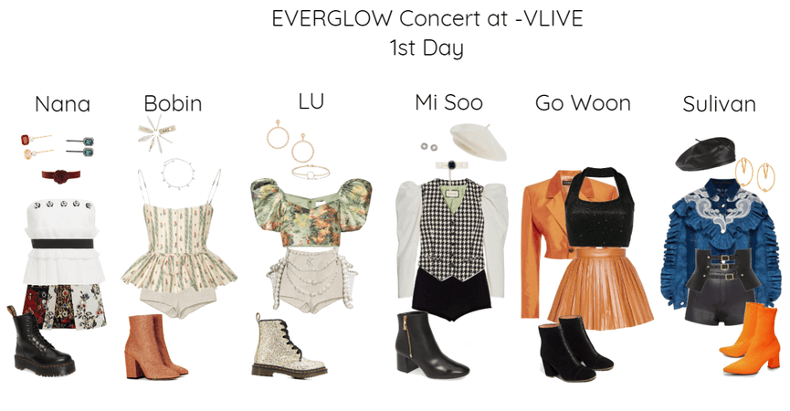 SMConcert at Vlive Everglow Day 1st Week