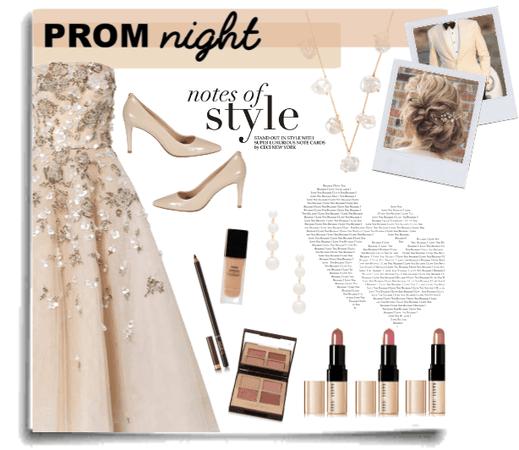 Classic princess prom