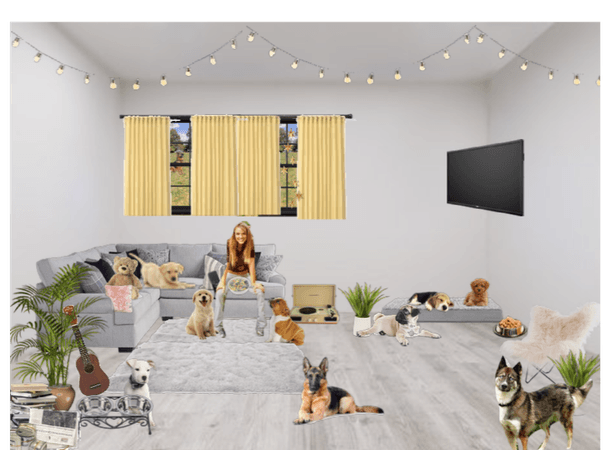 I think there's a little obsession of dogs here...