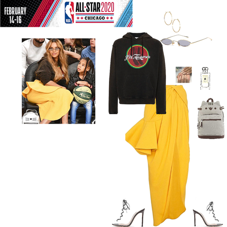 Style Beyonce: NBA All Star Weekend