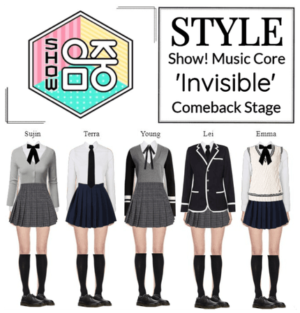 STYLE Show! Music Core 'Invisible' Comeback Stage