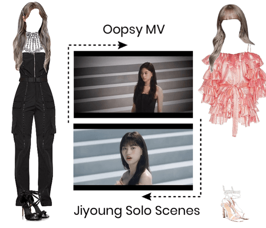 Oopsy MV- Jiyoung solo scenes