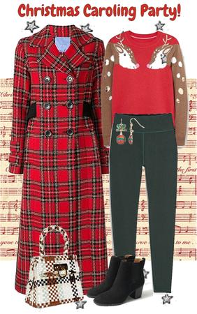 Christmas Caroling Party!