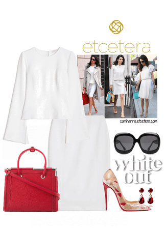 ETC Winter 2018: Purity Stretch Blouse & Skirt