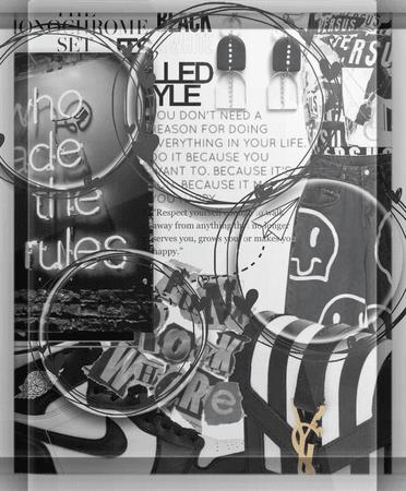 Black & White Monochrome.