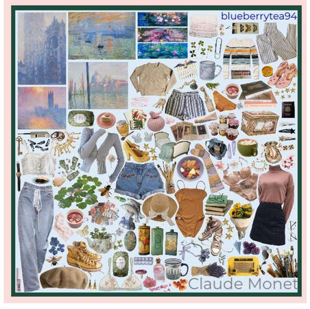 Monet Moodboard