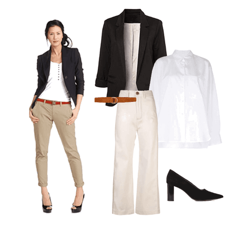 Team Leader Woman Casual Outfit