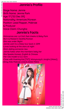 Crushes (호감) Jennie Re-Intro