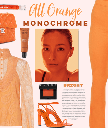 All Orange Monochrome
