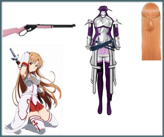 SAO Fatal Bullet Asuna Yuki