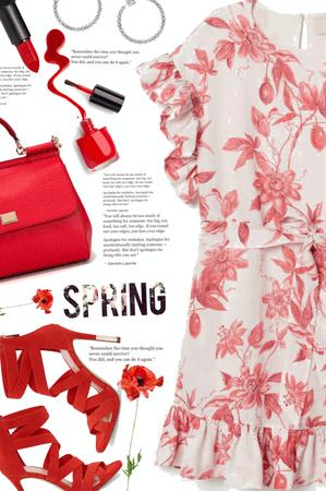 red spring