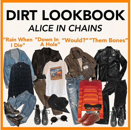 DIRT by ALICE IN CHAINS (LOOKBOOK EDITION)