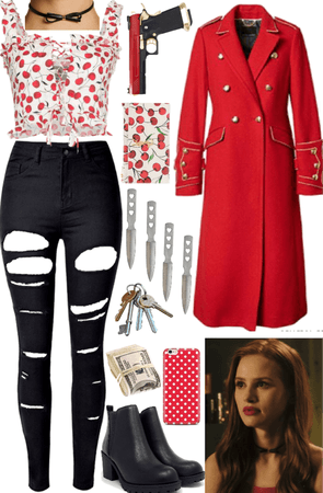 Cheryl Blossom Inspired Meeting the Winchesters Outfit