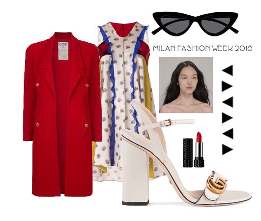 Milan fashion week 2018