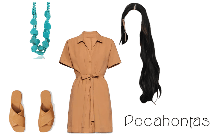 Pocahontas Disneybound