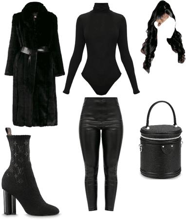 Black On Black Winter