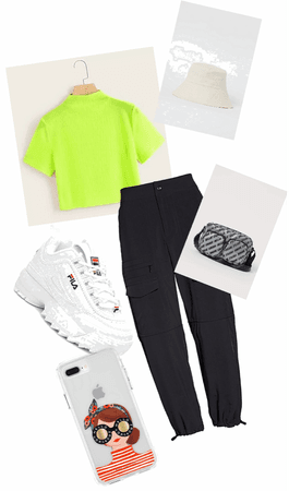 neon amazing outfit