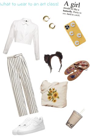 what to wear to an art class!