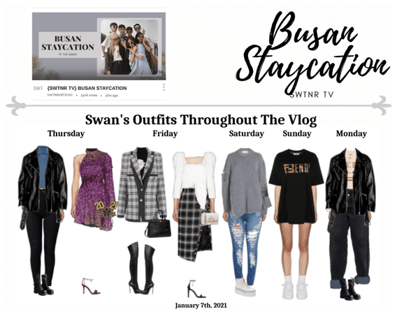 𝚂𝚆𝙴𝙴𝚃𝙽𝚁| SWTNR TV | BUSAN STAYCATION | SWAN